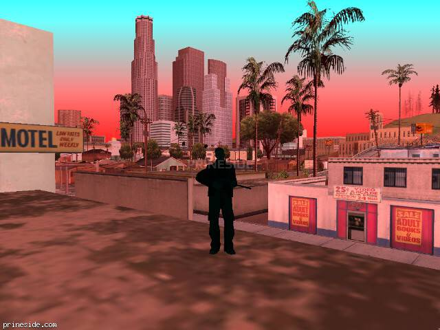 GTA San Andreas weather ID 228 at 10 hours