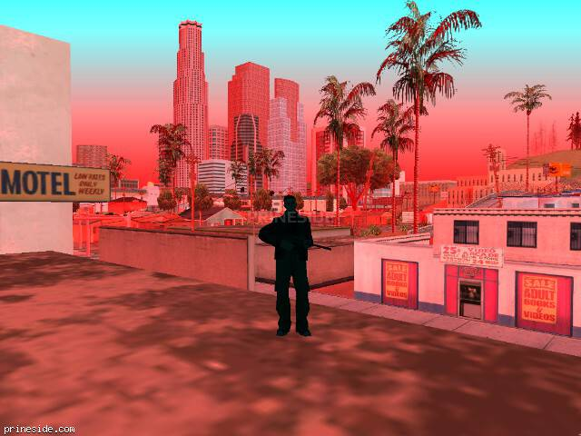GTA San Andreas weather ID -284 at 11 hours