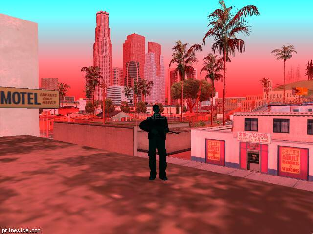 GTA San Andreas weather ID 1764 at 14 hours