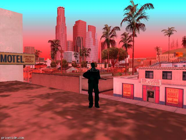 GTA San Andreas weather ID 996 at 16 hours