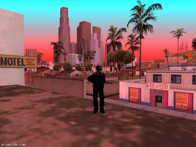 GTA San Andreas weather ID -540 at 17 hours
