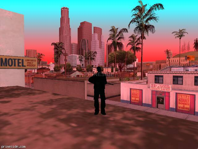 GTA San Andreas weather ID -1564 at 19 hours