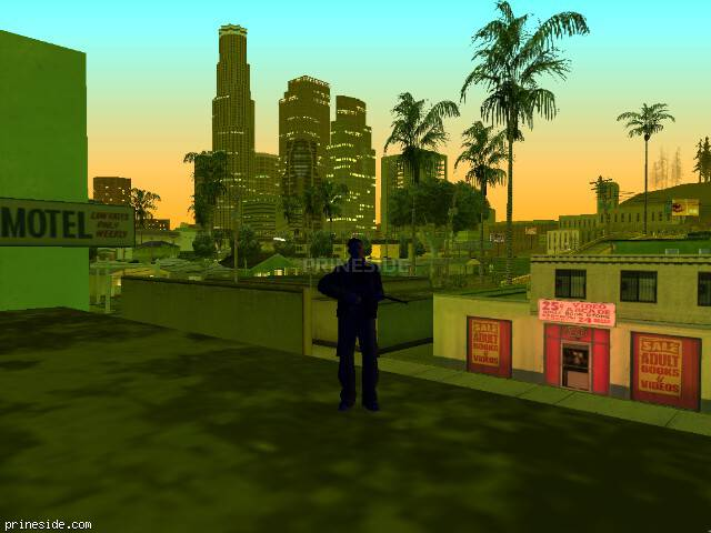 GTA San Andreas weather ID -28 at 21 hours