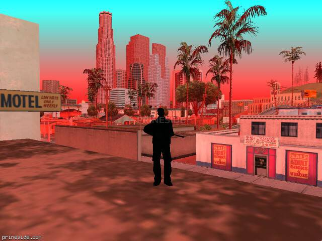 GTA San Andreas weather ID -284 at 7 hours