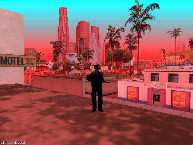 GTA San Andreas weather ID 741 at 10 hours