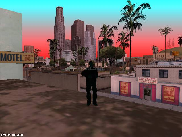 GTA San Andreas weather ID 229 at 16 hours