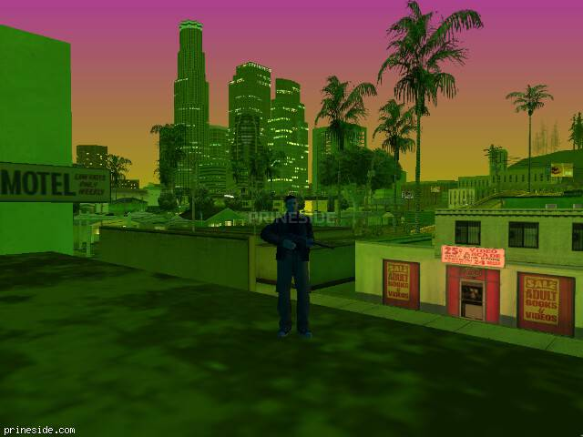 GTA San Andreas weather ID 229 at 21 hours