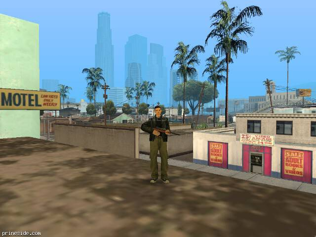 GTA San Andreas weather ID 23 at 13 hours