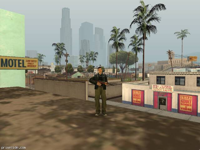 GTA San Andreas weather ID 23 at 15 hours