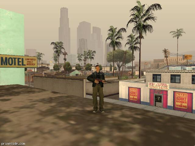 GTA San Andreas weather ID 23 at 16 hours