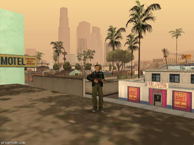 GTA San Andreas weather ID 23 at 17 hours