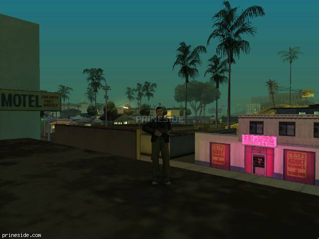 GTA San Andreas weather ID 23 at 1 hours