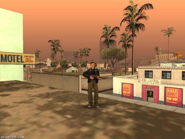 Просмотр погоды GTA San Andreas с ID 23 в 20 часов