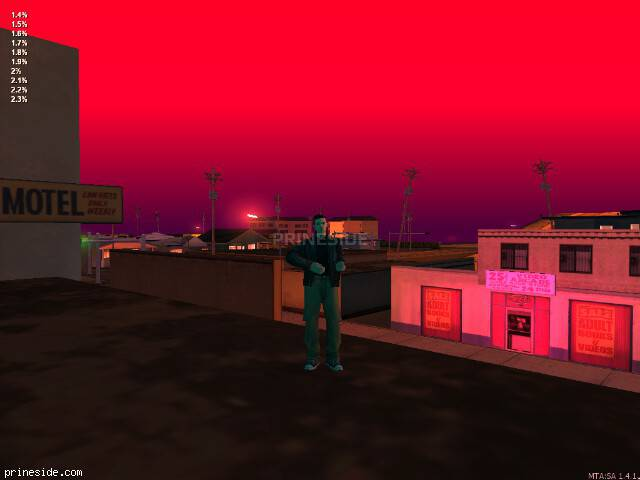 GTA San Andreas weather ID 23 at 22 hours