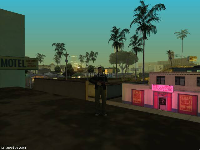 GTA San Andreas weather ID 23 at 2 hours