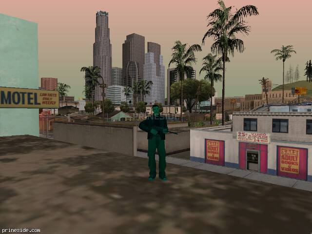 GTA San Andreas weather ID -1050 at 11 hours