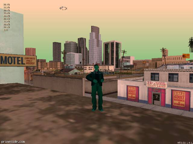 GTA San Andreas weather ID -282 at 12 hours