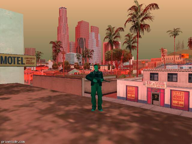 GTA San Andreas weather ID 486 at 17 hours