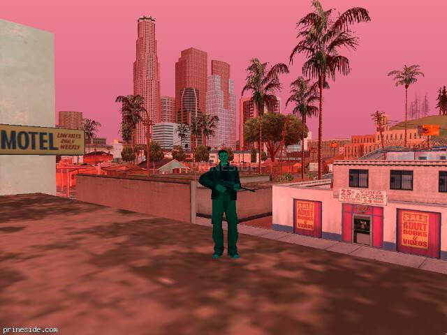 GTA San Andreas weather ID 998 at 9 hours