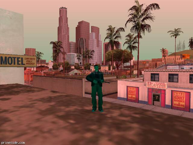 Просмотр погоды GTA San Andreas с ID -25 в 11 часов
