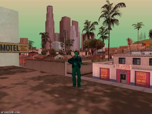 Просмотр погоды GTA San Andreas с ID 487 в 15 часов
