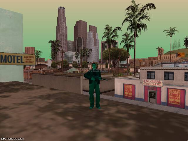 GTA San Andreas weather ID 999 at 16 hours