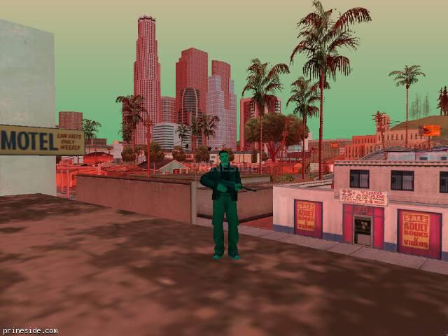 Просмотр погоды GTA San Andreas с ID 231 в 17 часов