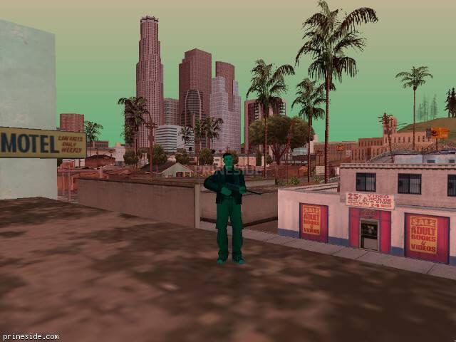 Просмотр погоды GTA San Andreas с ID 999 в 18 часов