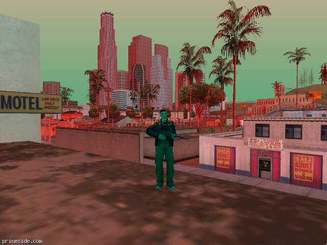 GTA San Andreas weather ID 231 at 19 hours