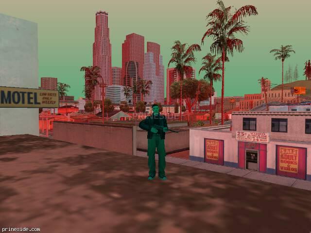 Просмотр погоды GTA San Andreas с ID 1255 в 19 часов