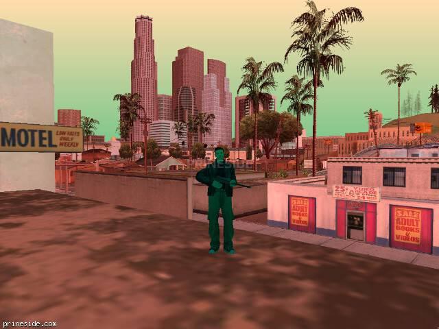 Просмотр погоды GTA San Andreas с ID 232 в 14 часов