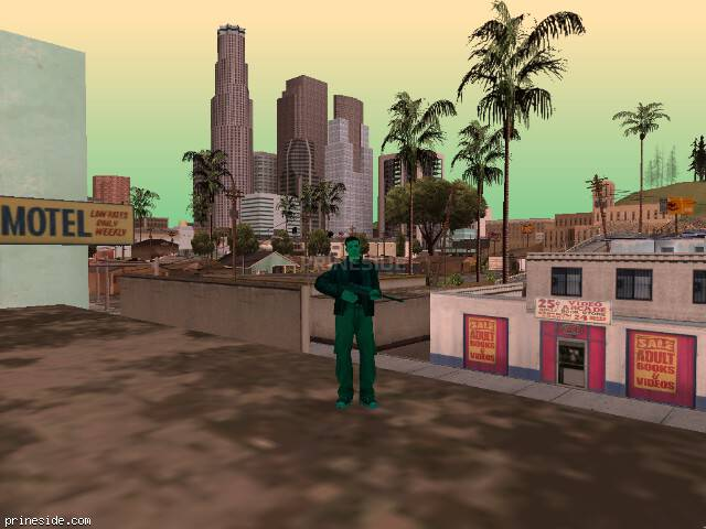 GTA San Andreas weather ID -24 at 15 hours