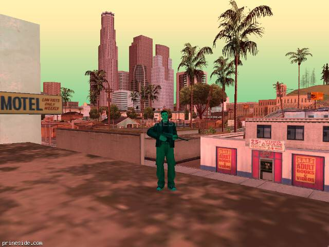 GTA San Andreas weather ID -24 at 17 hours