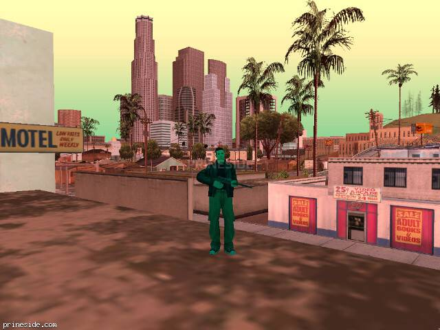 GTA San Andreas weather ID 232 at 19 hours