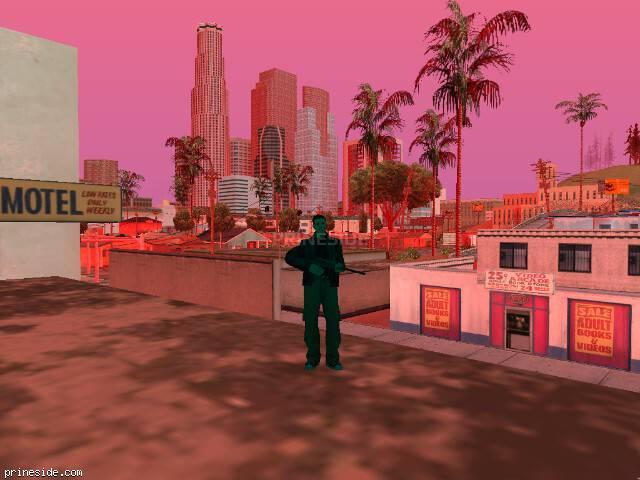 Просмотр погоды GTA San Andreas с ID 232 в 7 часов