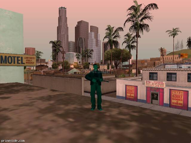 GTA San Andreas weather ID 745 at 10 hours