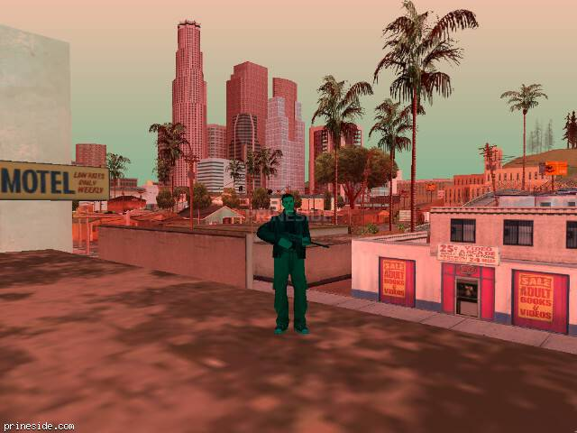 GTA San Andreas weather ID 489 at 11 hours
