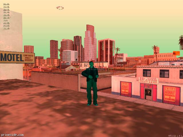 GTA San Andreas weather ID 233 at 12 hours
