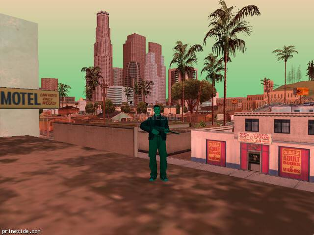 GTA San Andreas weather ID 233 at 14 hours