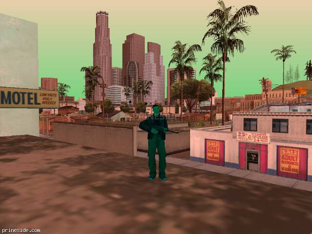 GTA San Andreas weather ID 745 at 16 hours