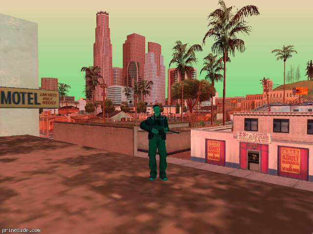 Просмотр погоды GTA San Andreas с ID 233 в 17 часов