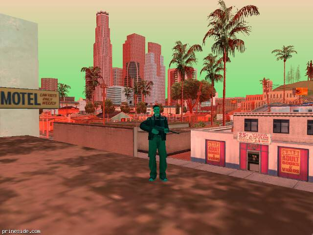 GTA San Andreas weather ID -279 at 19 hours