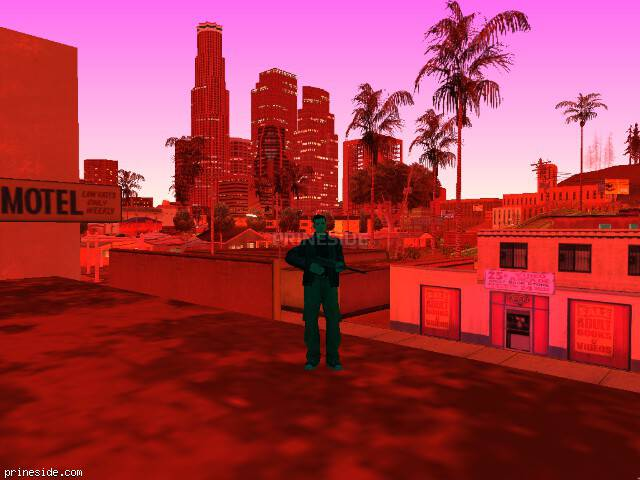 GTA San Andreas weather ID 745 at 4 hours