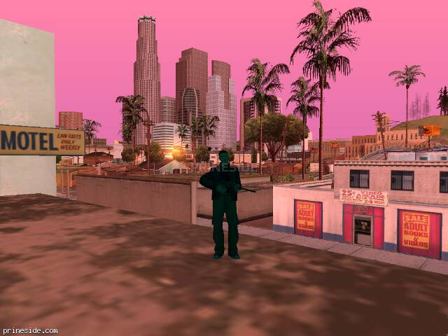 GTA San Andreas weather ID 745 at 7 hours