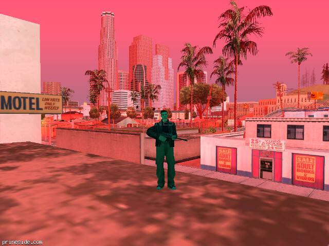 GTA San Andreas weather ID -22 at 10 hours