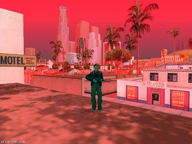 GTA San Andreas weather ID -278 at 13 hours