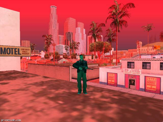 GTA San Andreas weather ID 1002 at 14 hours