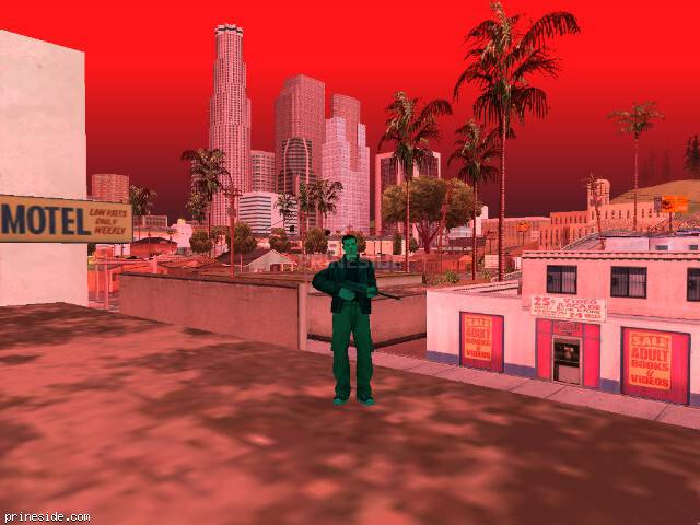 GTA San Andreas weather ID -22 at 18 hours