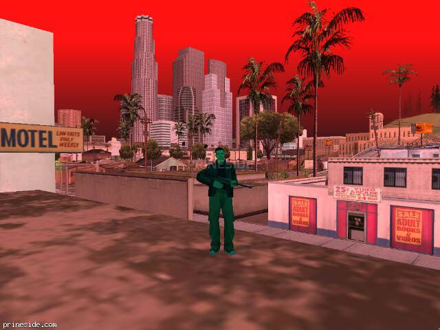 GTA San Andreas weather ID 1002 at 19 hours