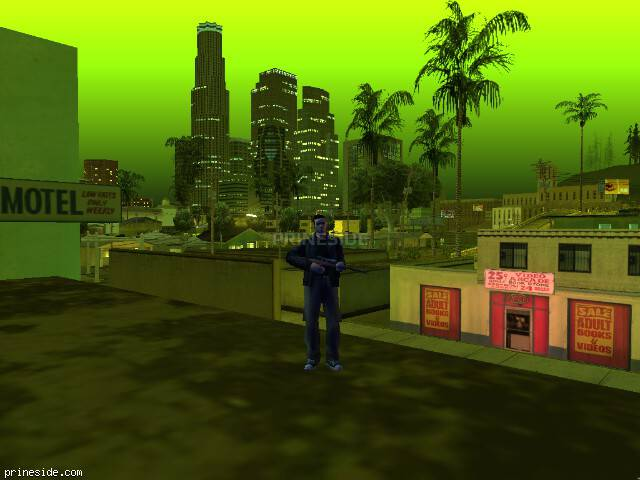GTA San Andreas weather ID -278 at 22 hours